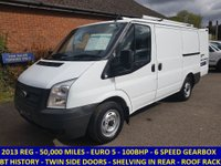 2013 FORD TRANSIT 300 SWB 100BHP DIRECT FROM BT FLEET WITH FULL HISTORY  £6995.00
