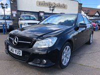2011 MERCEDES-BENZ C CLASS 2.1 C220 CDI BLUEEFFICIENCY SE EDITION 125 4d 170 BHP £SOLD