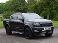 USED 2017 17 FORD RANGER 3.2 WILDTRAK 4X4 DCB TDCI 1d AUTO 197 BHP HAWK EDITION