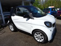 USED 2016 66 SMART FORTWO 1.0 PASSION 2d 71 BHP Very Low Mileage, One Owner from new, MOT until September 2019, Just Serviced by ourselves, Excellent fuel economy! ZERO Road Tax! Low Insurance Group!