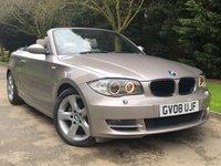 2008 BMW 1 SERIES 2.0 120I SE 2d 168 BHP £5490.00
