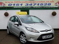 USED 2010 60 FORD FIESTA 1.4 EDGE TDCI 5d 69 BHP DIESEL, FULL DEALER HISTORY, £20 ROAD TAX