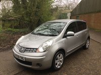 2008 NISSAN NOTE 1.6 TEKNA 5d AUTO 1 FAMILY OWNED LOW MILES FSH £4695.00