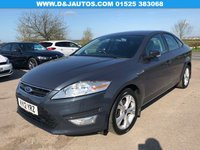 2012 FORD MONDEO