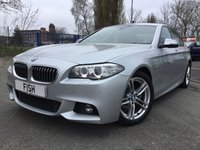 2013 BMW 5 SERIES 2.0 520D M SPORT 4d AUTO 181BHP £13490.00