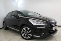 USED 2014 14 CITROEN DS5 2.0 HDI DSTYLE 5DR AUTOMATIC 161 BHP HALF LEATHER SEATS + SAT NAVIGATION + REVERSE CAMERA + BLUETOOTH + CRUISE CONTROL + MULTI FUNCTION WHEEL + CLIMATE CONTROL + 18 INCH ALLOY WHEELS
