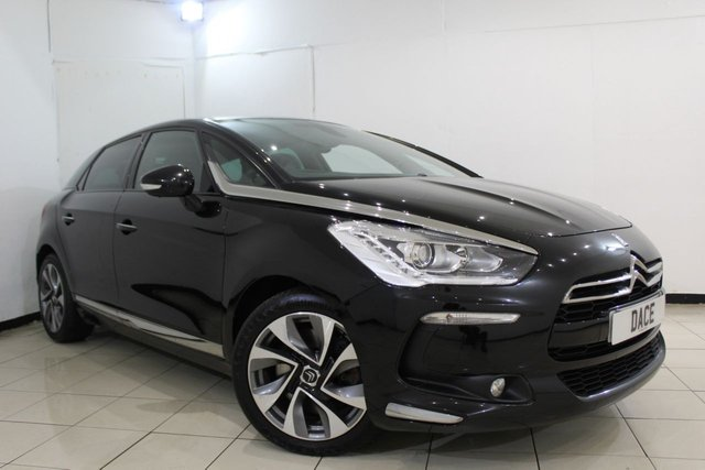 View our 2014 14 CITROEN DS5 2.0 HDI DSTYLE 5DR AUTOMATIC 161 BHP