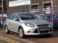 USED 2013 63 FORD FOCUS 1.6 ZETEC TDCI 5d FULL SERVICE HISTORY ~ BLUETOOTH ~ DAB ~ AIRCON ~ VOICE CONTROL ~ ALLOYS ~ £20 ROAD TAX