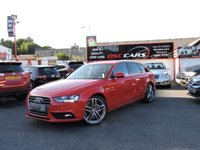 2014 AUDI A4 2.0 AVANT TDI SE TECHNIK 134 BHP £SOLD
