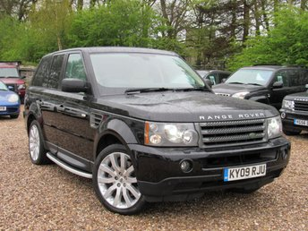 2009 LAND ROVER RANGE ROVER SPORT 2.7 TDV6 SPORT HSE 5d AUTO 188 BHP £SOLD
