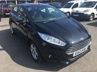 USED 2013 13 FORD FIESTA 1.5 ZETEC TDCI 5 DOOR 74 BHP WITH 63000 MILES IN SOLID BLACK APPROVED CARS ARE PLEASED TO OFFER THIS  FORD FIESTA 1.5 ZETEC TDCI 5 DOOR 74 BHP WITH 63000 MILES IN SOLID BLACK WITH A BLACK CLOTH INTERIOR IN IMMACULATE CONDITION WITH A FULLS SERVICE HISTORY WITH 5 STAMPS IN THE SERVICE BOOK A GREAT SMALL FAMILY CAR AND VERY ECONOMICAL.