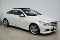 2010 MERCEDES-BENZ E CLASS 3.0 E350 CDI BLUEEFFICIENCY SPORT 2d AUTO 231 BHP £14750.00