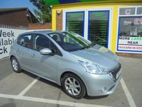 USED 2013 13 PEUGEOT 208 1.2 ACTIVE 5d 82 BHP ***FINANCE AVAILABLE...TEST DRIVE TODAY***