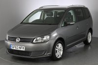 USED 2014 63 VOLKSWAGEN TOURAN 2.0 SE TDI BLUEMOTION TECHNOLOGY 138 BHP