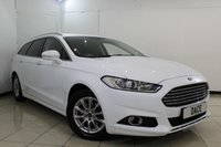 USED 2015 15 FORD MONDEO 2.0 ZETEC ECONETIC TDCI 5DR 148 BHP FULL SERVICE HISTORY + BLUETOOTH + CRUISE CONTROL + MULTI FUNCTION WHEEL + AUXILIARY PORT + CLIMATE CONTROL + 16 INCH ALLOY WHEELS