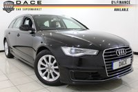 USED 2015 15 AUDI A6 AVANT ULTRA SE 2.0 TDI 5DR AUTOMATIC 188 BHP SAT NAV Full Service History 1 Owner FULL AUDI SERVICE HISTORY + 0% FINANCE AVAILABLE T&C'S APPLY + LEATHER SEATS + SAT NAVIGATION + PARKING SENSOR + BLUETOOTH + CRUISE CONTROL + CLIMATE CONTROL + MULTI FUNCTION WHEEL + 17 INCH ALLOY WHEELS