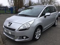 USED 2012 62 PEUGEOT 5008 1.6 HDI STYLE 5d 112BHP 7 SEATS 2KEYS+HISTORY+PRIVACY+PARKING