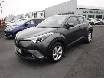 2018 TOYOTA CHR 1.2 ICON 5d 114 BHP CAMERA & CRUISE CONTROL £18495.00