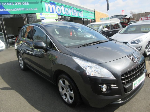 USED 2013 13 PEUGEOT 3008 1.6 HDI ACTIVE 5d 115 BHP .. CALL 01543 379066 TO ARRANGE TEST DRIVE TODAY