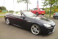 """USED 2014 14 BMW 6 SERIES 3.0 640D M SPORT 2d AUTO 309 BHP FULL SERVICE HISTORY, LEATHER, 20"""" UPGRADED ALLOYS, HEATED SEATS, SAT NAV, + LOTS MORE"""