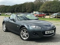 USED 2012 61 MAZDA MX-5 1.8 I ROADSTER SE 2d 125 BHP FULL MAZDA SERVICE HISTORY / ONE FORMER LADY OWNER /