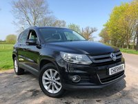 USED 2012 61 VOLKSWAGEN TIGUAN 2.0 SE TDI BLUEMOTION TECHNOLOGY 4MOTION 5d 138 BHP