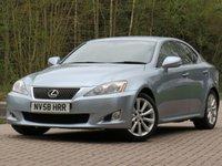 USED 2009 58 LEXUS IS 2.5 250 SE-I 4d AUTO 204 BHP