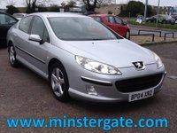 2004 PEUGEOT 407 2.0 SV HDI 4d 135 BHP * ONLY 72000 MILES * £1490.00