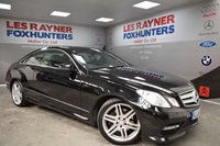 2013 MERCEDES-BENZ E CLASS 2.1 E220 CDI BLUEEFFICIENCY SPORT 2d AUTO 170 BHP £12999.00