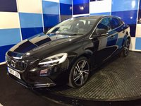 "USED 2017 17 VOLVO V40 2.0 D2 INSCRIPTION 5d AUTO 118 BHP A stunning example of this much sought after family diesel hatchback finished in unmarked metalic black paintwork further enhanced with 18"" diamond cut alloys ,this car comes with all the usual refinements including satelite navigation ,bluetooth,full leather interior,heated front seats,cruise control/speed limiter,climate control,usb,aux and media interface this car ticks all the right boxes and looks superb,returning  72.4 mpg on combined cycle and road fund of only £20,definitely one to view."