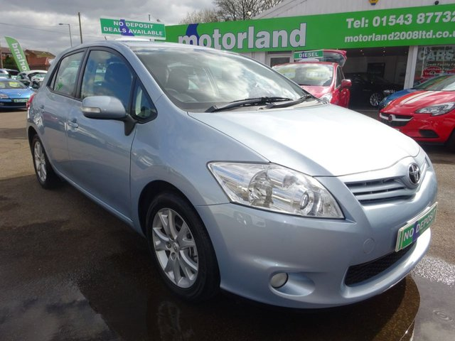 USED 2012 61 TOYOTA AURIS 1.4 TR D-4D 5d 89 BHP ***FINANCE AVAILABLE...TEST DRIVE TODAY***