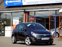 USED 2014 14 VAUXHALL CORSA 1.2 SXI AC 3d 83 BHP * Lovely Low Mileage Little Hatch *