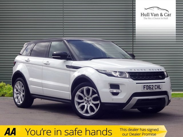 2012 62 LAND ROVER RANGE ROVER EVOQUE 2.2 SD4 DYNAMIC 5d 190 BHP