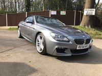2015 BMW 6 SERIES 3.0 640D M SPORT AUTO CONVERTIBLE £27995.00
