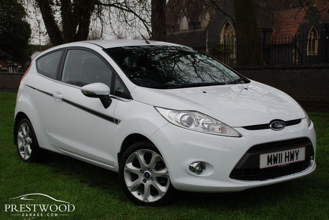 2011 11 FORD FIESTA 1.25 ZETEC [82 Bhp] 3 DOOR HATCHBACK