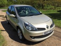 USED 2007 07 RENAULT CLIO 2.0 INITIALE VVT 5d AUTO 138 BHP Alloy Wheels, Low Mileage, A/C