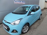 2014 HYUNDAI I10 1.0 SE 5d 65 BHP AIR CON, USB CONNECTION CHEAP TAX £6995.00