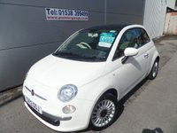 USED 2013 13 FIAT 500 1.2 LOUNGE 3d 69 BHP ONLY 10000 MILES, SUNROOF