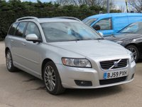 USED 2009 59 VOLVO V50 2.4 D5 SE LUX 5d 180 BHP AUTOMATIC, SATELLITE NAVIGATION + FULL LEATHER