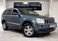 2006 JEEP GRAND CHEROKEE 3.0 V6 CRD LIMITED 5d 215 BHP £2500.00