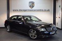 USED 2014 14 MERCEDES-BENZ E CLASS 2.1 E220 CDI SE 4DR 168 BHP + FULL BLACK LEATHER INTERIOR + FULL MERC SERVICE HISTORY + COMAND SATELLITE NAVIGATION + HEATED SEATS + DAB RADIO + RAIN SENSORS + CRUISE CONTROL + ACTIVE PARK ASSIST + 17 INCH ALLOY WHEELS +