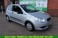USED 2011 11 CHEVROLET AVEO 1.2 S 3d 83 BHP +Jst Serviced +Trade Clearance