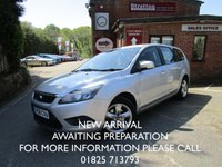 USED 2008 58 FORD FOCUS 1.6 ZETEC 5d 100 BHP ESTATE