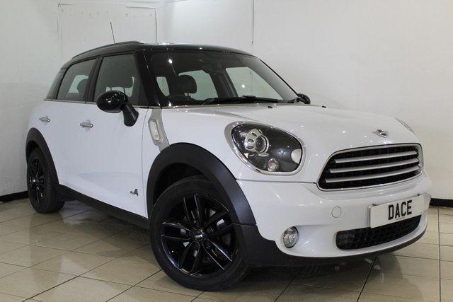 View our 2012 62 MINI COUNTRYMAN 2.0 COOPER D ALL4 CHILI PACK 5DR AUTOMATIC 110 BHP