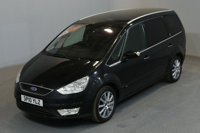 2010 10 FORD GALAXY 2.0 GHIA 143 BHP A/C 7 SEATER 2 OWNER FROM NEW, MOT UNTIL 17/12/2018