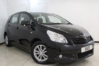 USED 2011 61 TOYOTA VERSO 2.0 TR D-4D 5DR 125 BHP 7 SEATS + BLUETOOTH + PANORAMIC ROOF + MULTI FUNCTION WHEEL + CLIMATE CONTROL + ELECTRIC WINDOWS + 16 INCH ALLOY WHEELS