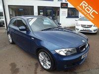 2010 BMW 1 SERIES 2.0 116D M SPORT 3d 114 BHP £5600.00