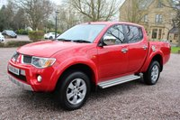 USED 2009 59 MITSUBISHI L200 2.5 ANIMAL LWB DCB 1d 164 BHP