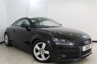 USED 2007 57 AUDI TT 2.0 TFSI 3DR 200 BHP SERVICE HISTORY + HALF LEATHER SEATS + PARKING SENSOR + AUXILIARY PORT + AIR CONDITIONING + RADIO/CD + 17 INCH ALLOY WHEELS