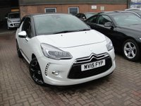 USED 2015 15 CITROEN DS3 1.6 BLUEHDI DSPORT PLUS 3d 120 BHP ANY PART EXCHANGE WELCOME, COUNTRY WIDE DELIVERY ARRANGED, HUGE SPEC